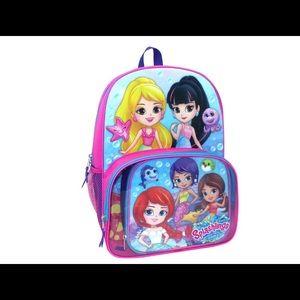 Splashlings Backpack & Lunch Tote Set